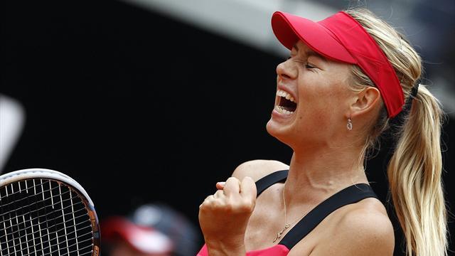 Yağmur Sharapova'yı durduramadı