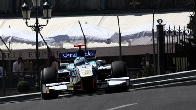 Cecotto quickest in GP2 practice