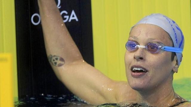 Gold medallist Pellegrini back on form in Rome