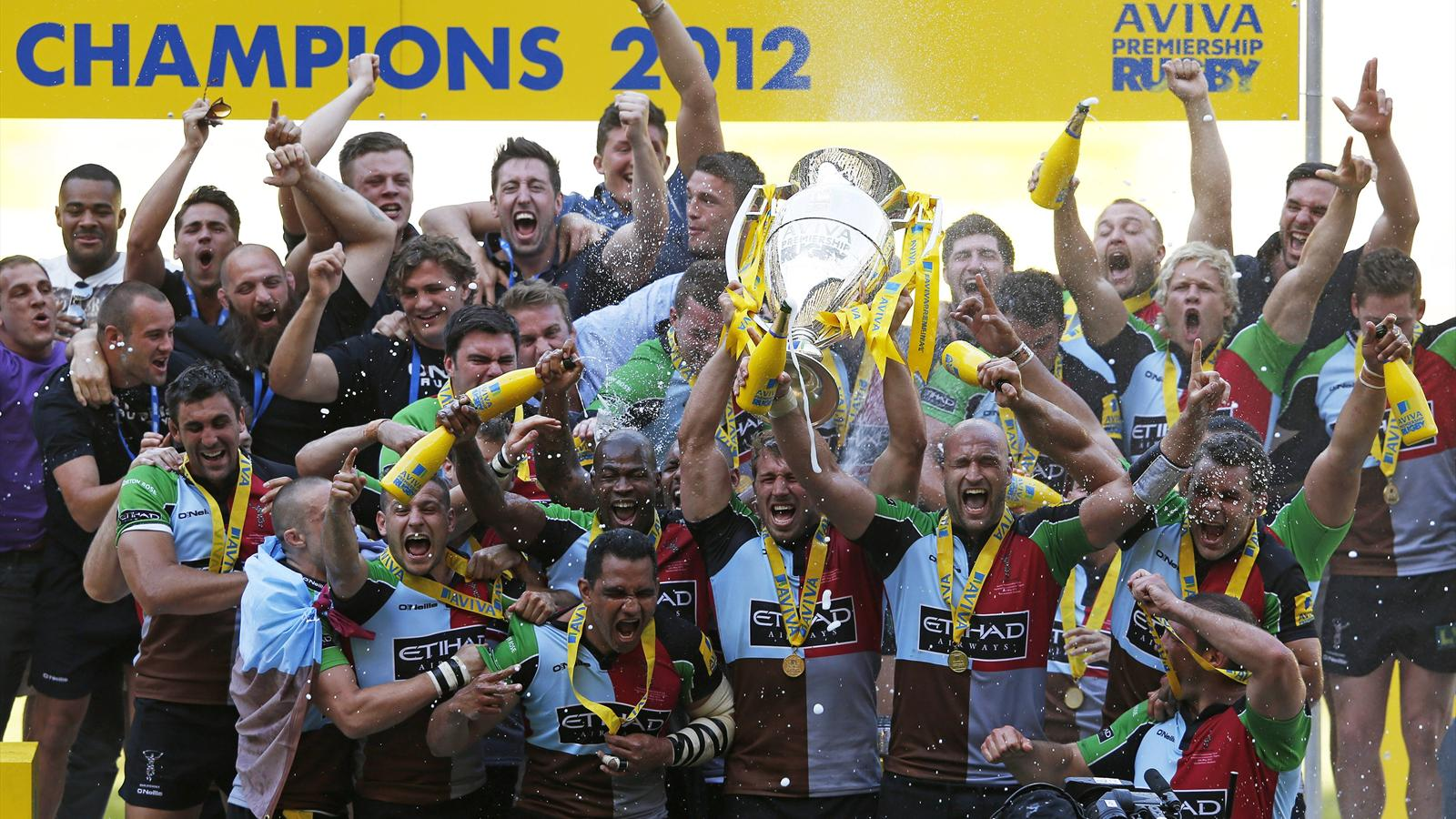 harlequins win first title aviva premiership 2010 2011 rugby eurosport asia. Black Bedroom Furniture Sets. Home Design Ideas