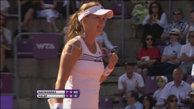Radwanska wins Brussels final