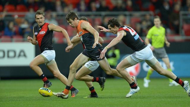 Giants' Cameron beats striking charge