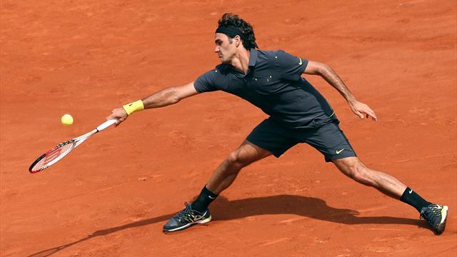 Men: Record win for Federer