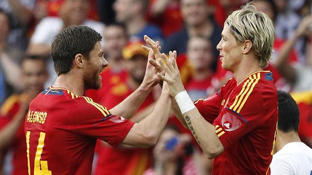 Torres scores as Spain down Koreans