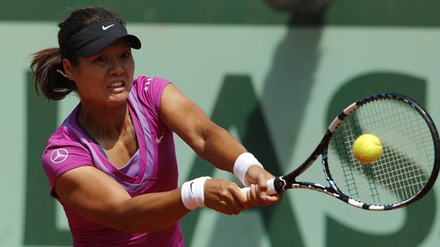 Women: Li shocked, Sharapova through