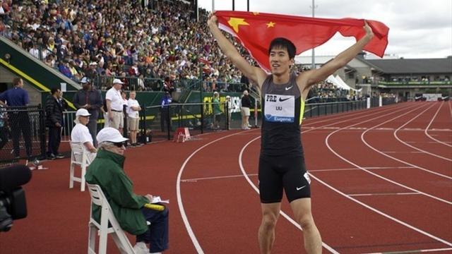 Liu Xiang en pleine forme