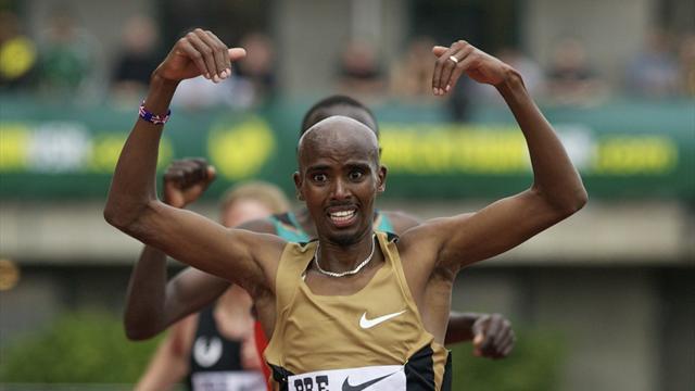 Farah runs fastest 5,000 metres of year