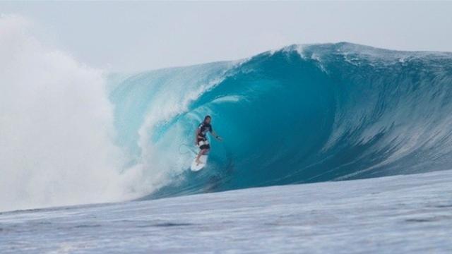 Aussie wildcard stuns Slater in Fiji