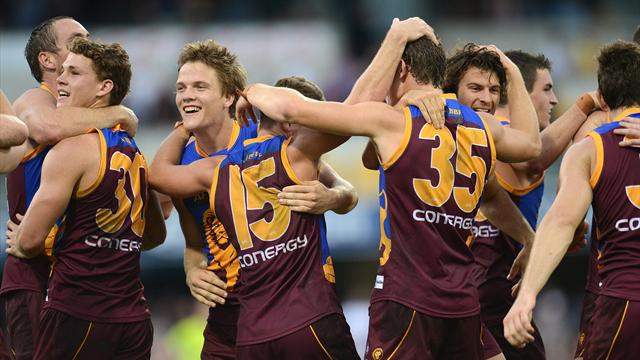 Lions thrash Demons by 61 points
