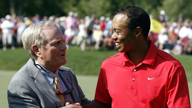Nicklaus: Woods can equal my record