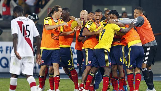 Rodriguez goal downs Peru