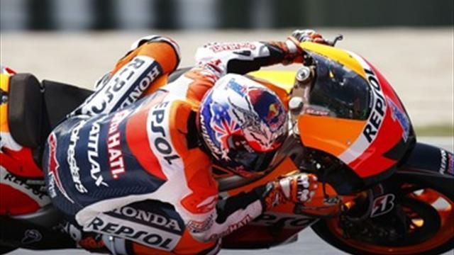 Stoner wins Assen MotoGP as Lorenzo crashes