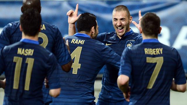 France outclass Estonia in final friendly