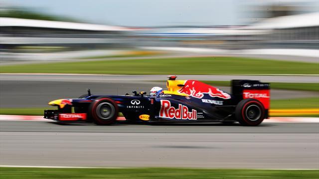 Kanada'da pole Vettel'in