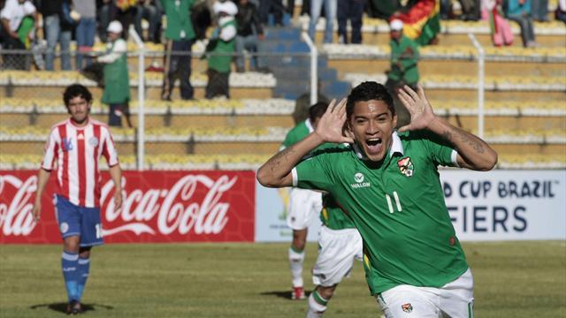 Bolivia 3-1 Paraguay