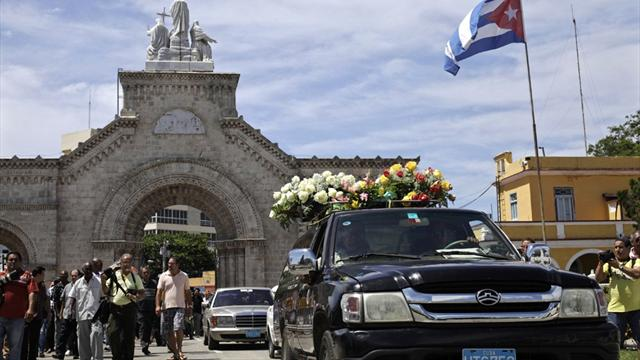 Cuba says goodbye to Stevenson