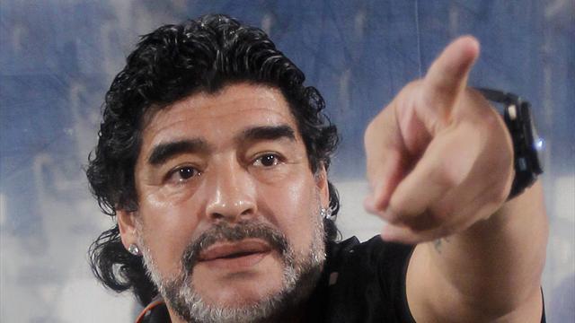 Dubai club Al Wasl sack Maradona