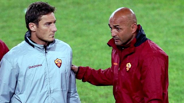 Spalletti ne veut plus parler de l'affaire Totti