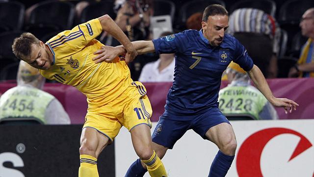 Украина – франция перед матчем