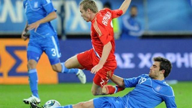 Греция - Россия: перед матчем