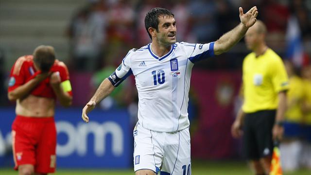 Greece end Russia's Euro 2012 dream