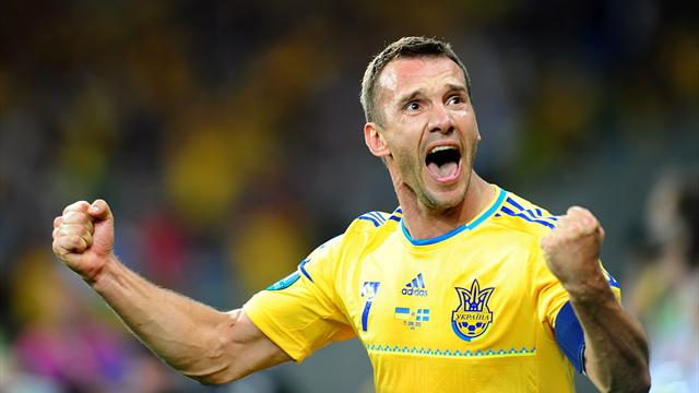 Shevchenko to retire from national side