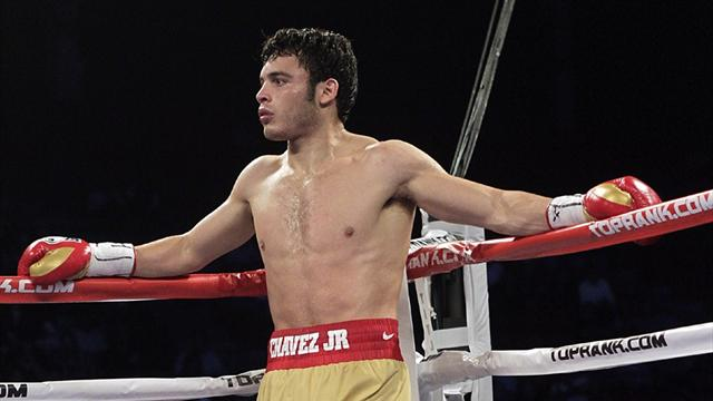 Chavez Jr suspended and fined over drug test