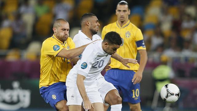 Sweden 2-0 France