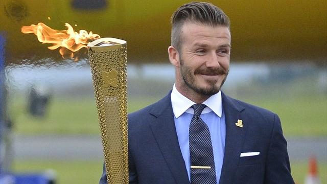 Beckham rules out lighting flame