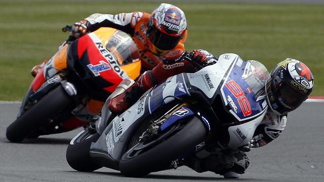 Lorenzo fastest in opening Assen practice