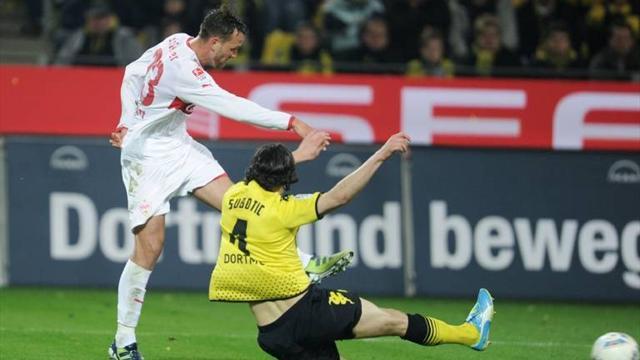 Dortmund sign Schieber from Stuttgart