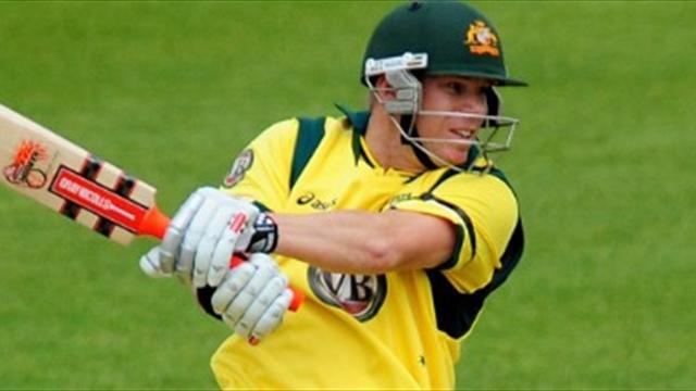 Australia crush Leicestershire
