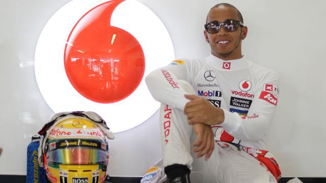 Hamilton says Maldonado incident was just a blip