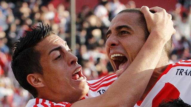 Trezeguet wins promotion for River