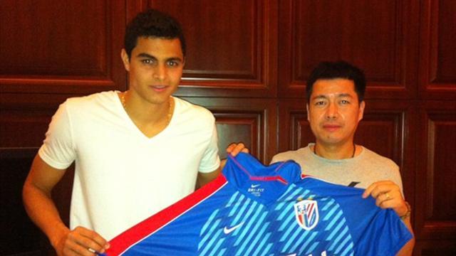 Moreno move to Shenhua confirmed