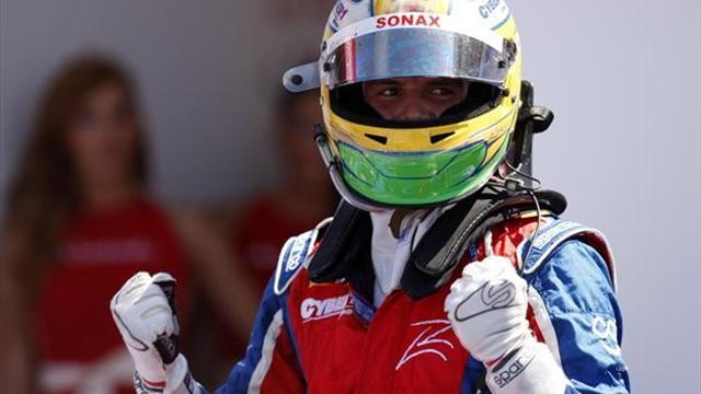 Razia wins thrilling GP2 sprint race