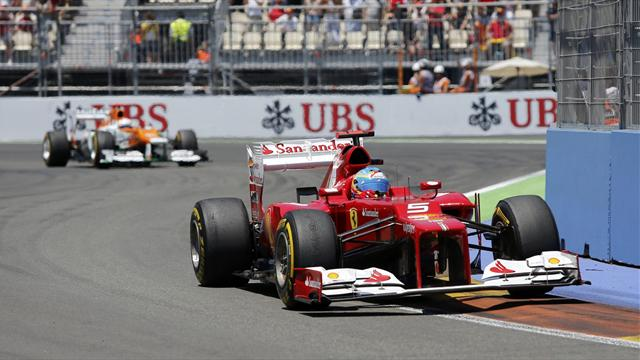 Alonso triumphs in Valencia thriller