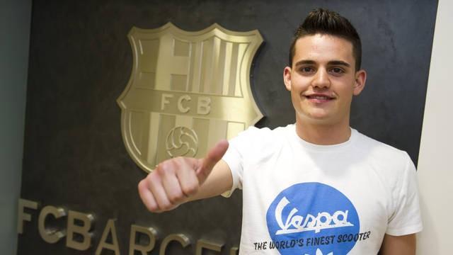 Barcelona sign Manchester City starlet Roman