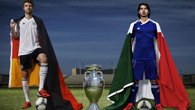 Германия – Италия: перед матчем