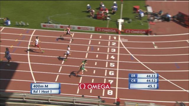 400 m : Gregan assure