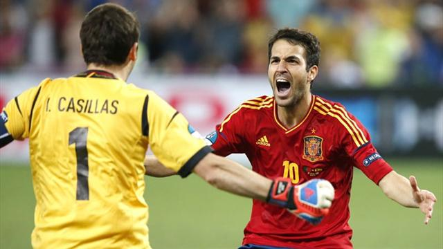 Penalties take Spain to Euro 2012 final