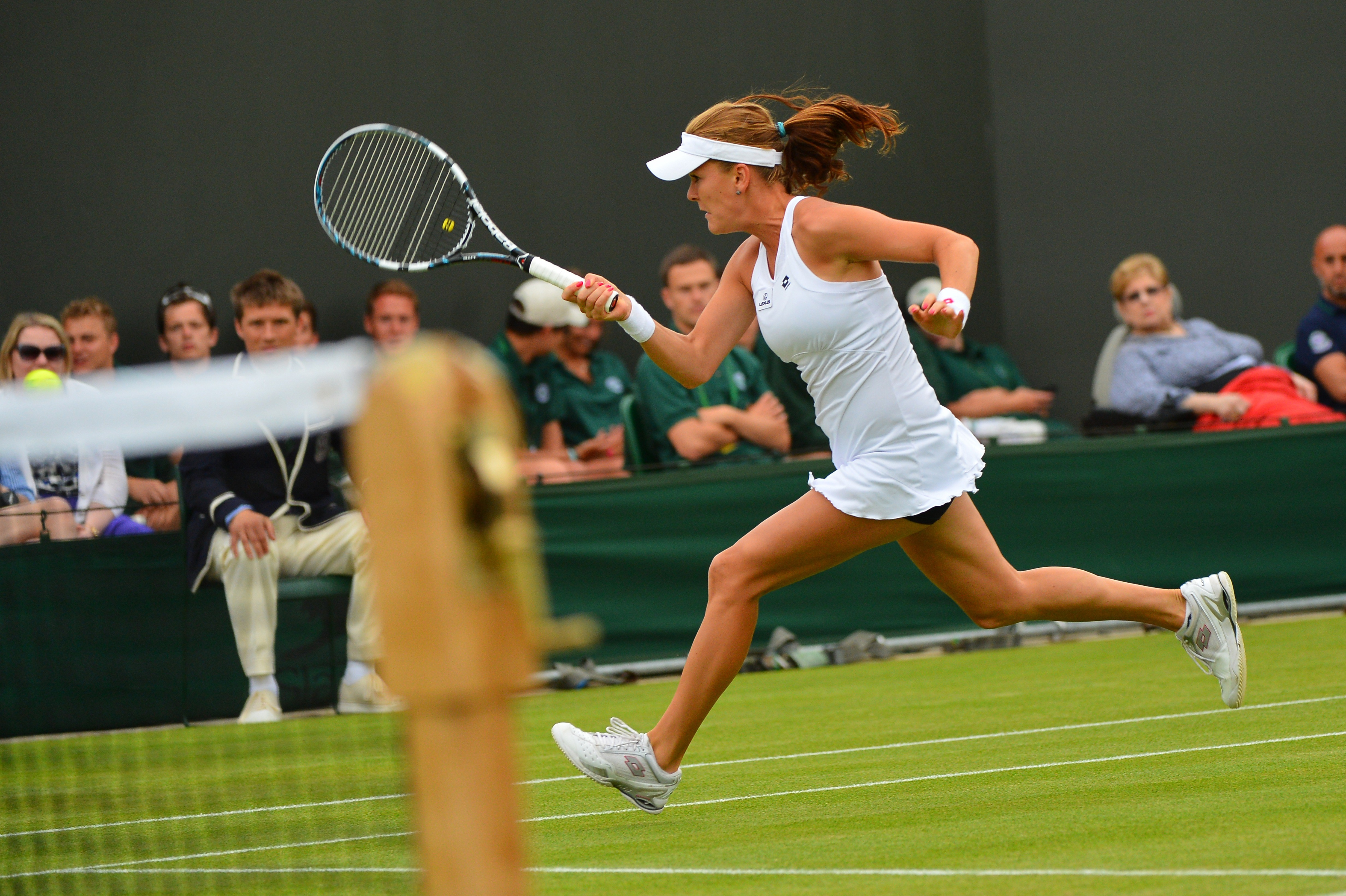 Agnieszka Radwanska Wimbledon 2012
