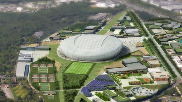 Evry, prochain grand stade des Bleus
