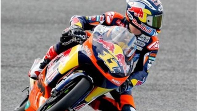 Cortese beats Kent to Moto3 pole, Espargaro tops Moto2