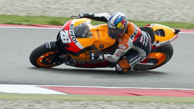 Pedrosa stays on top at Laguna Seca