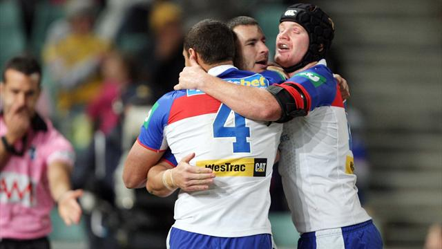 Newcastle thump Manly