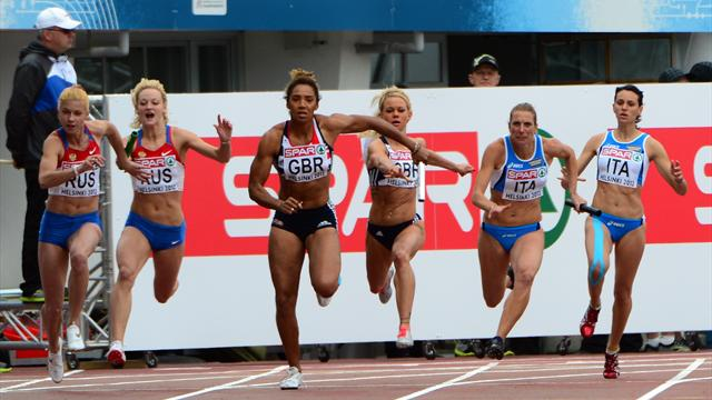 British relay women will not be at Olympics