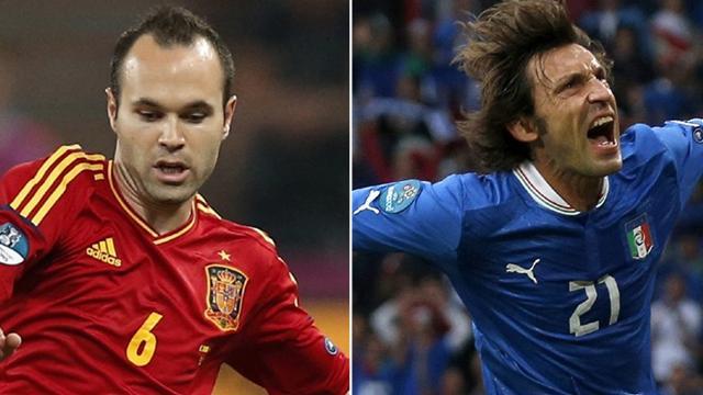 Spain v Italy: Head-to-head