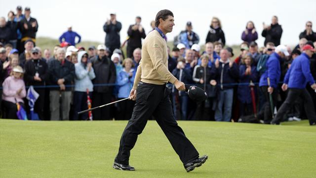 Harrington in the hunt at the Irish Open