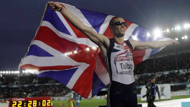 Talbot takes bronze in 200m final